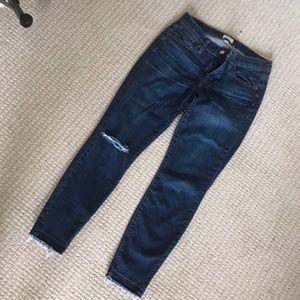 Jcrew jeans.